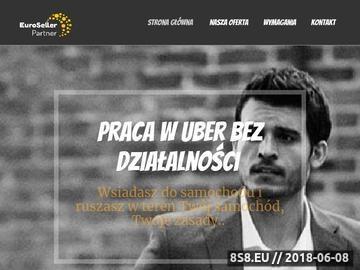 Zrzut strony Jak zostać kierowcą Ubera