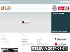 Miniaturka domeny www.euroweld.pl