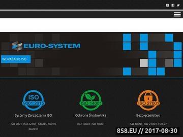 Zrzut strony Wdrażanie ISO