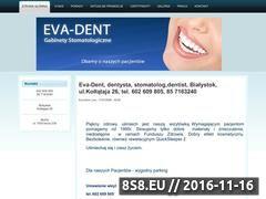 Miniaturka domeny eva-dent.pl