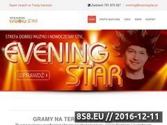 Miniaturka domeny www.eveningstar.pl