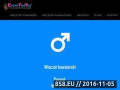 Miniaturka domeny eventforyou.com.pl