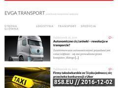 Miniaturka domeny www.evga-transport.pl