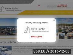 Miniaturka domeny evita-jacht.pl