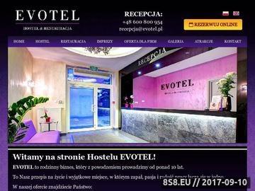 Zrzut strony Hotel pod Warszawą