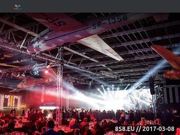 Zrzut strony Agencja eventowa Evtrad