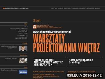Zrzut strony Projektowanie wnętrz Wrocław