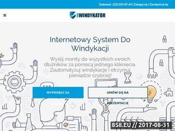 Zrzut strony Wezwanie do zapłaty - www.ewindykator.pl