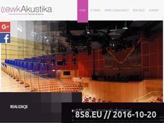 Miniaturka domeny www.ewkakustika.pl