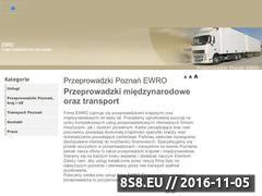 Miniaturka domeny www.ewro-przeprowadzki.com.pl