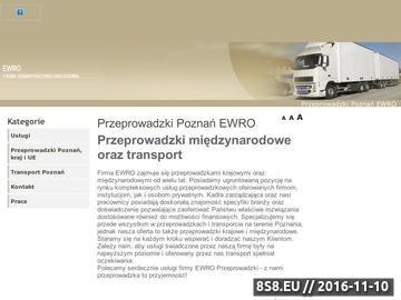 Zrzut strony Przeprowadzki Warszawa-Poznań