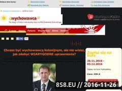 Miniaturka domeny www.ewychowawca.pl