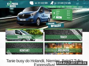 Zrzut strony Busy do Belgii