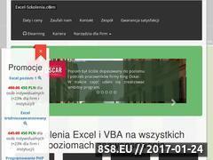 Miniaturka domeny www.excel-szkolenia.com