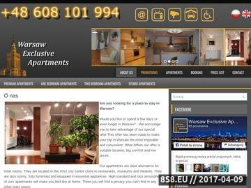 Zrzut strony Wynajmij apartament na pobyt w Stolicy - alternatywa dla hoteli