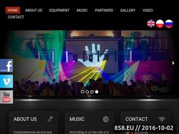 Zrzut strony Exclusive DJs