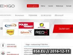 Miniaturka domeny www.exigo.pl
