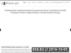 Miniaturka domeny exitium.pl