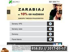 Miniaturka domeny www.exone.pl
