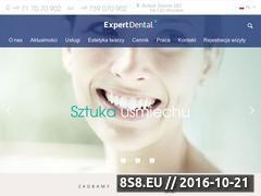 Miniaturka domeny www.expertdental.pl