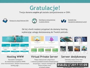 Zrzut strony EXPIRE.PL - wolne,wygasłe domeny.Usunięte domeny. Recykling adresów stron internetowych. Lista domen.