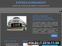 Miniaturka domeny www.expreskonkurent.pl