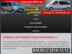 Miniaturka domeny www.express-line.eu
