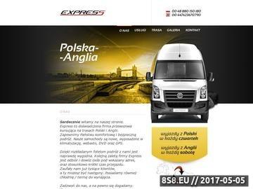 Zrzut strony Paczki Polska Anglia