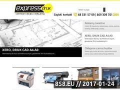 Miniaturka domeny www.expressdruk.com.pl
