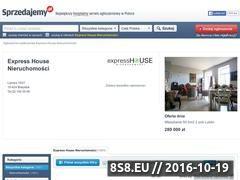 Miniaturka domeny expresshouse.sprzedajemy.pl