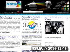 Miniaturka domeny www.exprism.com