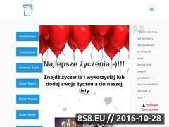 Miniaturka domeny www.ezyczeniabozonarodzeniowe.pl