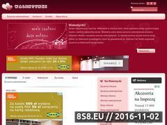 Miniaturka domeny www.ezyczeniawalentynkowe.pl