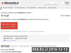 Miniaturka domeny www.fa-ra.pl