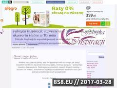 Miniaturka domeny fabryka-inspiracji.blog.pl