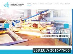 Miniaturka domeny www.fabrykamagika.pl