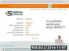 Miniaturka domeny www.fabrykastropow.pl