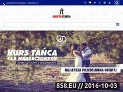 Miniaturka domeny www.fabrykatanca.pl