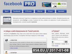 Miniaturka domeny www.facebookpro.pl