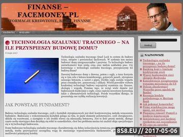 Zrzut strony Serwis - FaceMoney.pl