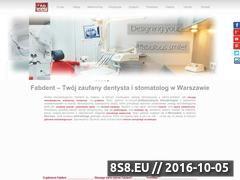 Miniaturka domeny fachowydentysta.pl