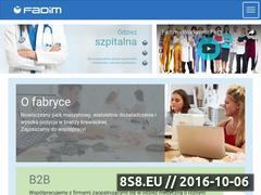 Miniaturka domeny www.fadim.pl