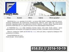 Miniaturka domeny www.fadom-bud.pl