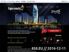 Miniaturka domeny www.fajerwerki.info