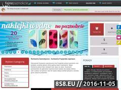 Miniaturka domeny fajnepaznokcie.pl