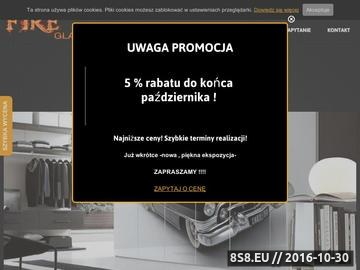 Zrzut strony Panele szklane - szyby dekoracyjne Warszawa