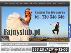 Miniaturka domeny fajnyslub.pl