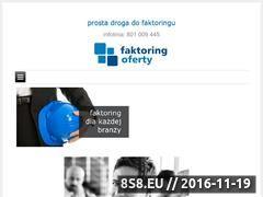 Miniaturka domeny faktoringoferty.pl