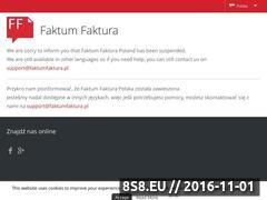 Miniaturka domeny www.faktumfaktura.pl