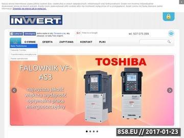 Zrzut strony Falowniki wektorowe Toshiba - Inwert - Łódź